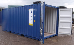 20ft-steel-storage-container-in-blue-side-view